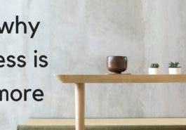 5 étapes à adopter pour vivre en minimaliste