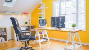 Comment aménager son bureau quand on travaille à la maison