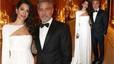 George et Amal Clooney, le couple le mieux habillé du Prince's Trust