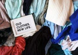 Que faire avec ces habits que vous ne portez plus ?
