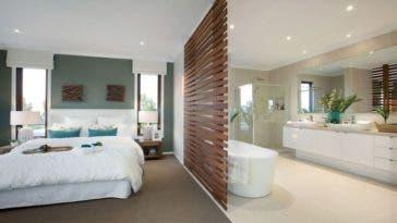 Salle de bain ouverte sur chambre : trois idées d'aménagement