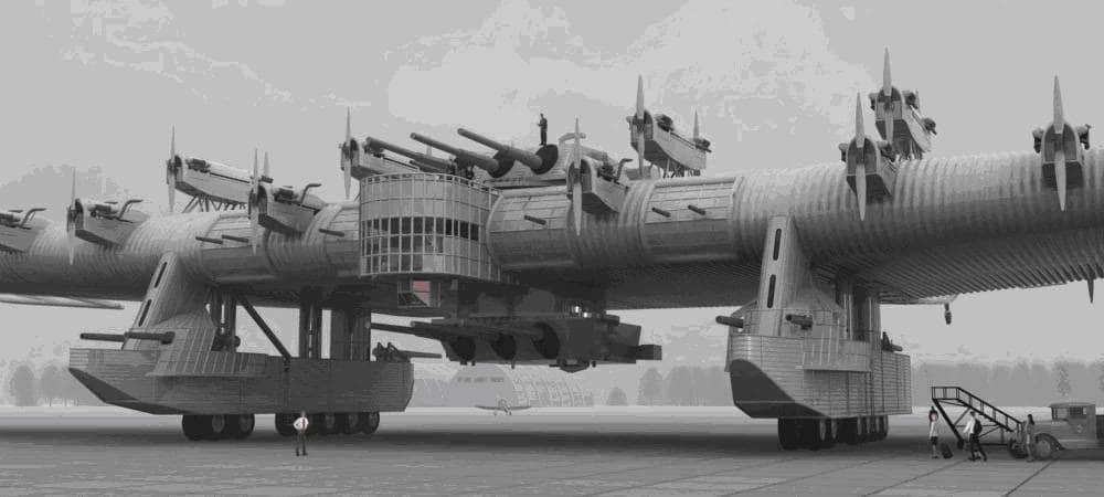 Die größten Militärflugzeuge der Welt sind ein unvergesslicher Anblick